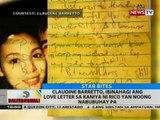 Claudine Barretto, ibinahagi ang love letter sa kaniya ni Rico Yan noong nabubuhay pa
