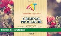 READ book Casenote Legal Briefs: Criminal Procedure - Keyed to Haddad, Zagel, Starkman   Bauer