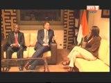 Rencontre entre la ministre de la communication et le représentant du sécrétaire général de l'ONU en Côte d'Ivoire , Albert Koenders