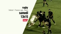 Rugby - Fédérale 1 : Provence rugby-Nevers bande annonce
