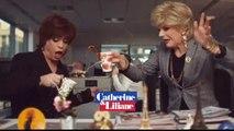 Catherine et Liliane ironisent sur la fin de l'émission d'Enora Malagré sur C8