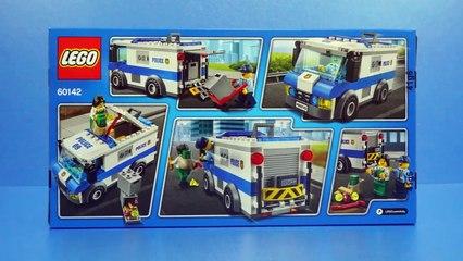 Lego 60142 Money Transporter Police car Toys Build Review