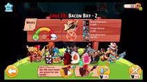 Angry Birds Epic: Bacon Bay Cave 18 with Hack Friend - Walkthrough
