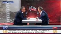François Bayrou, invité de Bourdin Direct sur BFMTV - 010217