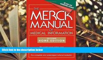 PDF  The Merck Manual of Medical Information: 2nd Home Edition (Merck Manual Home Health Handbook