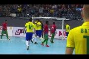 Brasil 18 x 0 Ilhas Salomão, futsal, Melhores Momentos, 2016, SHOW DO MITO FALCÃO futsal