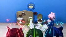 PJ Masks Peppa Pig Play-Doh Stop-Motion Toilet Training Team Owlette, Gekko, Catboy