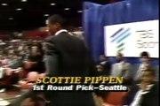 Scottie Pippen drafté par les Sonics en 1987