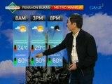 24 Oras: Mataas ang tsansa ng ulan sa Metro Manila at ilang bahagi ng bansa bukas