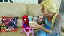 Человек-паук-Баба Sun Sun Злой Пикачу в Замороженные Elsa Анна Розовый Spidergirl Superman