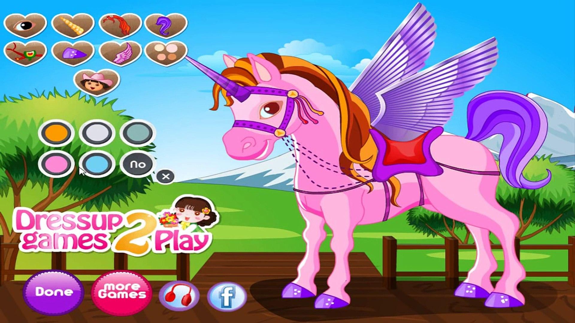 Dora Aventureira Em Portugues Baby Dora On The Unicorn King