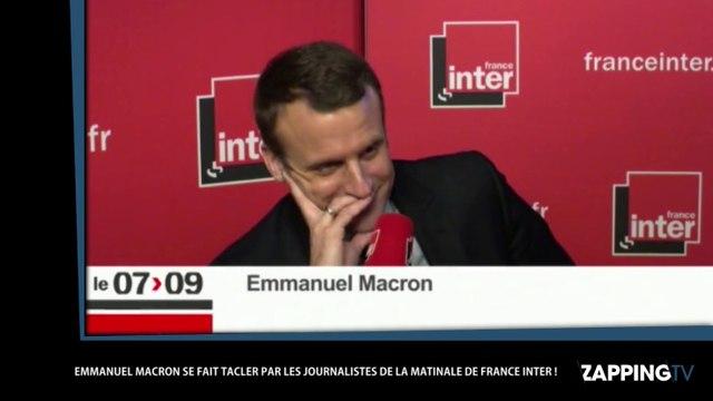 Emmanuel Macron moqué par Charline Vanhoenacker et Guillaume Meurice de France Inter (vidéo)