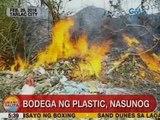 UB: Bodega ng plastic sa Tarlac City, nasunog
