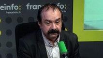 """Affaire Fillon :  """"Ces salaires sont indécents !"""" (Philippe Martinez, CGT)"""