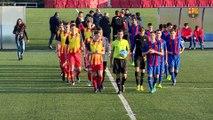 [HIGHLIGHTS] FUTBOL AMISTÓS (Juvenil A): FC Barcelona – Preselecció Catalana Sub-18 (2-0)