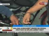 BT: 8 gumagamit umano ng droga, arestado sa oplan lambat sibat