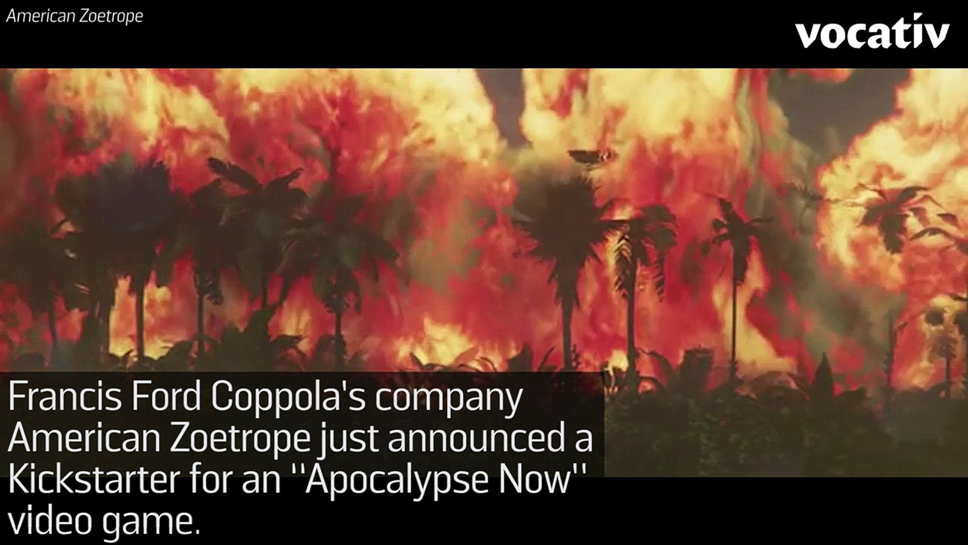 Francis Ford Coppola Crowdfunds 'Apocalypse Now' Video Game
