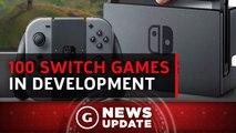 100 Nintendo Switch Games In Development - GS News Update