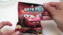 Cars 2 Bath Ball Bolas De Jabón Surprise Eggs Disney Pixar