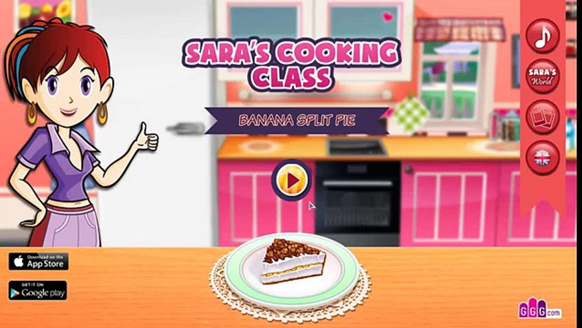 Готовим банановый торт! Игры для девочек! Развивающие игры!