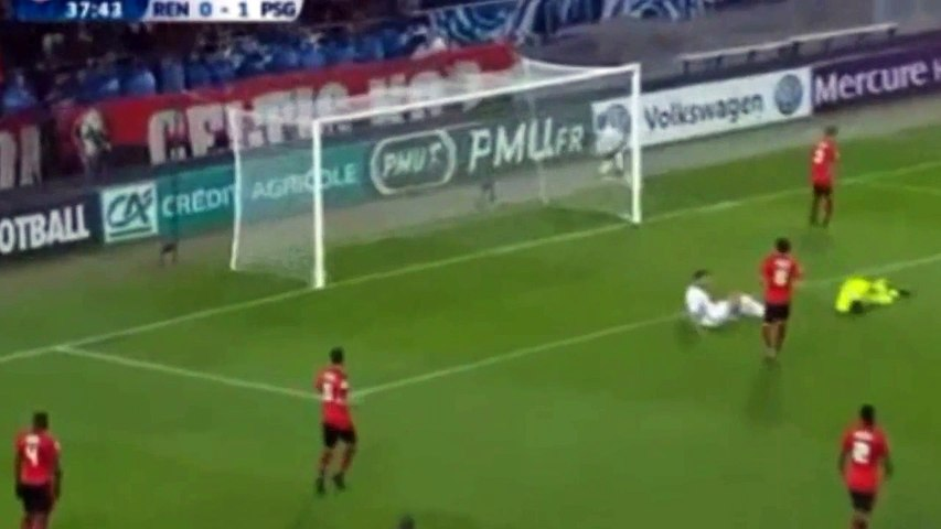 Rennes vs Paris Saint Germain (PSG) 0-4 All Goals 16 eme Coupe de France 1-2-17   Godialy.com