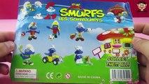 The Smurfs LES SCHTROUMPFS Gargmel Clumsy Smurf Smurfette Smurfs Unboxing Smurf Cartoon
