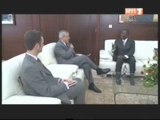 Primature: SEM Philip Carter III ambassadeur des USA reçu par le 1er ministre Ahoussou Jeannot.