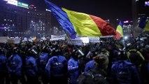 تظاهرات بی سابقه در رومانی در مخالفت با طرح دولت