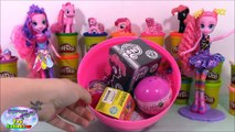 MY LITTLE PONY GIANT Play Doh Surprise Egg PINKIE PIE - Surprise Egg and Toy Col