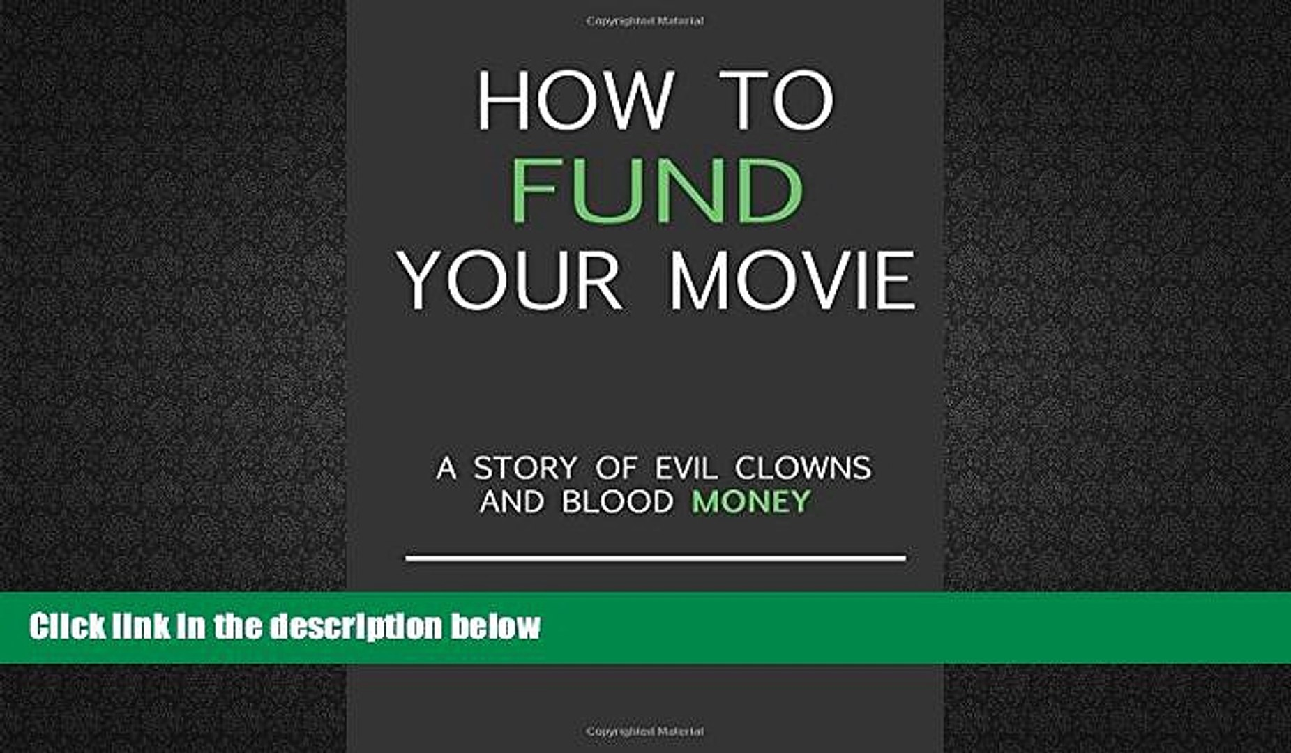 Audiobook  How to fund your movie: A story of evil clowns and blood money Trial Ebook