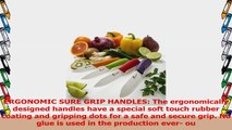 Chef Made Easy Ceramic Knife Set 9 Piece  Kitchen Knives with Case Knife Sheaths  Add 23ccb4e3