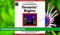READ book California Tenants  Rights (California Tenants  Rights, 14th ed) Myron Moskovitz Pre Order