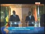 Congrès de l`Internationale libérale le chef de l`Etat sénégalais, Macky Sall reçu par Ouattara
