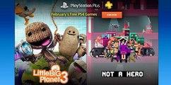 Los juegos de febrero para los usuarios de PS Plus