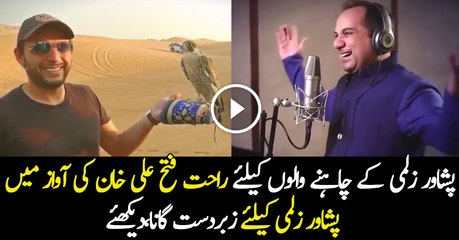 Song of Rahat Fateh Ali Khan