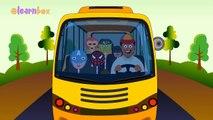 Колеса на автобусе | Супергерои Мультфильмы Анимация Nursery Rhymes для детей