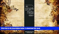 PDF  Why Social Media Matters: School Communication in the Digital Age Kitty Porterfield Pre Order