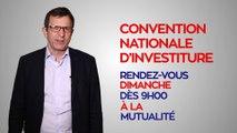 Christophe Borgel invite à la Convention d'investiture de Benoît Hamon du dimanche 5 février