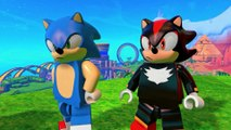 LEGO Dimensions - Meet that Hero Sonic the Hedgehog Meets Knight Rider  PS4, PS3 [Full HD,1920x1080p]