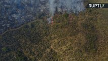 Endless Devastation of Chilean Forest Fires Seen From the Air
