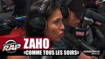 """Zaho """"Comme tous les soirs"""" en live #PlanèteRap"""