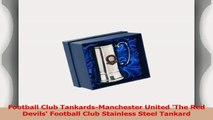Football Club TankardsManchester United The Red Devils Football Club Stainless Steel 2471480f
