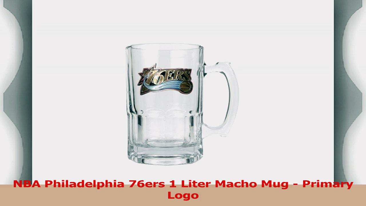 NBA Philadelphia 76ers 1 Liter Macho Mug  Primary Logo ed03a0fa