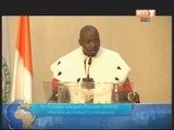 Cérémonie de rentrée solennelle du conseil constitutionnel sous la présidence du chef de l'Etat