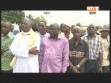 Les obsèques de l'ex journaliste Moussa Kamagaté Nkaramoko