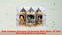 Koln Cologne Germany LE German Beer Stein 5L One New Mug Made in Germany 07150bfd