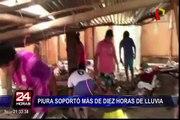 Piura: inundaciones por intensas lluvias dejan como saldo 2 muertos