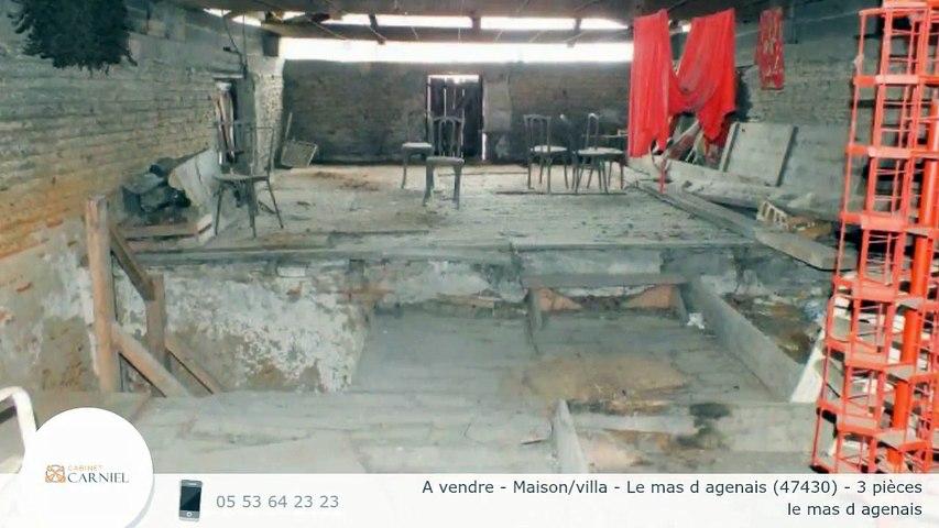 A vendre - Maison/villa - Le mas d agenais (47430) - 3 pièces