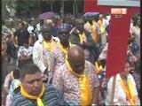 Religion: Des milliers de chrétiens catholiques ivoiriens ont effectué le pèlerinage à Lourdes