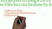 Recover Permanently Deleted Google Drive Files Deleted Forever from Trash